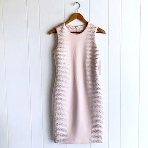 NWT Calvin Klein Pink Rhinestone Scuba Dress